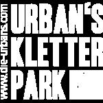 Urabns Kletterpark Logo Weiss 2020